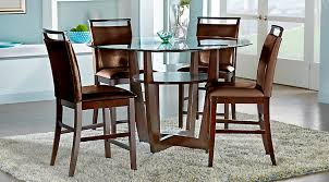 piece brandon dining set pinebislandbbpiecebdiningbset ciara espresso  pc counter height dining set
