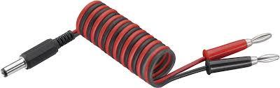 JR transmitter charging cable [2x Jack plug - <b>1x DC power plug</b>] 250 ...