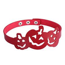 Buy Gothic <b>PU</b> Leather Cutout <b>Halloween Pumpkin</b> Lantern <b>Choker</b> ...
