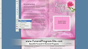 simple steps for addition of photo oval frame funeral templates in how to create a memorial program template on ms word funeral program site