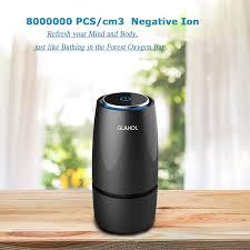 <b>GIAHOL Anion Car Air</b> Filter Purifier Cleaner USB Portable Mini Cup ...