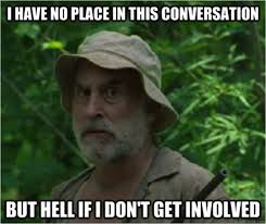34 Hilarious 'Walking Dead' Memes from Season 2 from Dashiell ... via Relatably.com