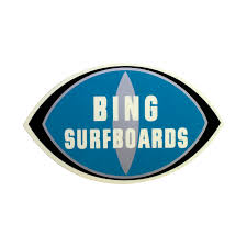 Bing Surfboards Logo Decal - Island Surf Company