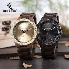 <b>BOBO BIRD Men</b> Quartz Wooden <b>Watch</b> - Wrist Gear Enterprises