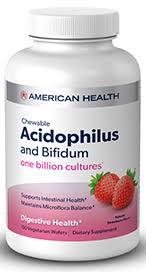 Probiotic <b>Acidophilus</b> with <b>Bifidum</b>   American Health - Good Health ...