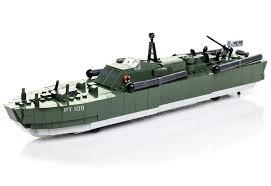<b>Конструктор</b> Торпедный катер РТ-109 <b>Cobi</b> Small Army. <b>Motor</b> ...