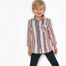 <b>Рубашка</b> в <b>полоску</b>, 3-12 лет в <b>полоску</b> разноцветный <b>La Redoute</b> ...