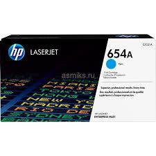 <b>Тонер</b>-<b>картридж HP 654A</b> (cyan) <b>CF331A</b>