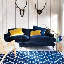 blue sofas living room: the stunning clio is our newest and most opulent sofa designed for sinking deeply into middot velvet sofa living roomblue