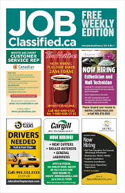 jobclassified ca canadian job bank and career opportunities view our online publications