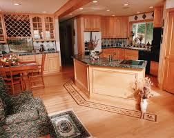 Wood Floor Kitchen Kitchen Wood Floors Image Of Dark Wood Floors With Oak Trim With