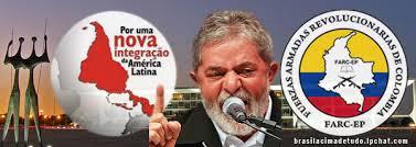 Resultado de imagem para Raúl Reyes FARC e Lula