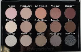<b>MAC Cool</b> Neutral Palette - Product with Names | <b>Mac eyeshadow</b> ...