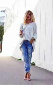 Boyfriend-<b>Jeans</b>-kombinleri-17 | Модные стили, <b>Джинсы</b> ...