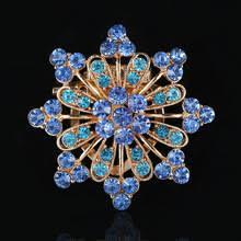 Женские <b>Броши</b> с разноцветными кристаллами в стиле ретро ...