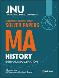 Buy JNU   Chapterwise Previous Years      Solved Papers MA History     Amazon in