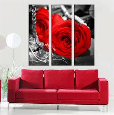 decor panel artjpg art hot modern canvas picture rose flower wall art modular oil painting ar