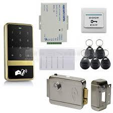 <b>DIYSECUR</b> 125KHz <b>RFID</b> Reader Touch Panel Password Keypad ...