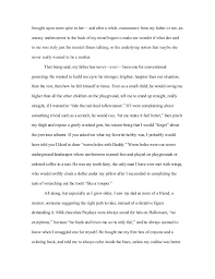word essay on how i learned my lesson