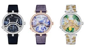 These <b>New Van Cleef</b> & Arpels Watches Come Sealed with a Kiss