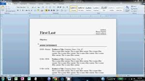 resume template ideas about templates word 89 exciting how to do a resume on word template