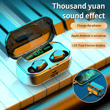Wireless Earphones TWS <b>Wireless Bluetooth 5.0 Headphones</b> LED ...