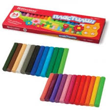 <b>Пластилин Brauberg</b> арт.103351, 24 цвета   отзывы