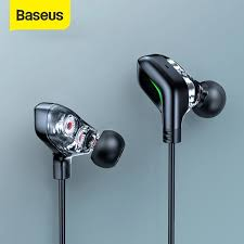 <b>Baseus GAMO</b> C18 Type C Gaming Earphone with RGB Light ...