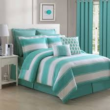 jade cabana stripe comforter bedding by fiesta