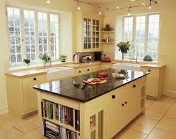 natural design kitchen designs with bookcase lighting ideas
