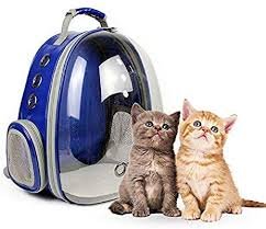 Leegoal Portable <b>Pet</b>/<b>Cat</b>/<b>Dog Backpack</b> Carrier Bubble, <b>New</b> Space ...