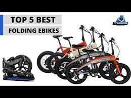 Top 5 <b>Folding Electric</b> Bikes 2019 - YouTube