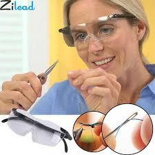 <b>Zilead</b> 250 Degree Vision <b>Glasses Magnifier Magnifying</b> Eyewear ...