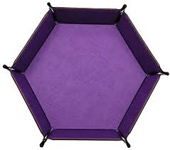 HJKGSVdv <b>Creative</b> Faux Leather <b>Hexagon Storage</b> Box Tray ...