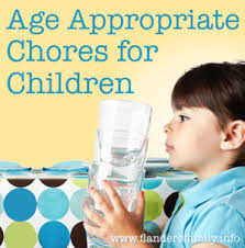 Age-Appropriate Chores for Children | The Flanders Family Website via Relatably.com