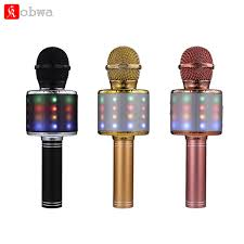 mikrofon <b>WS858</b> Bluetooth Wireless Condenser Magic Karaoke ...
