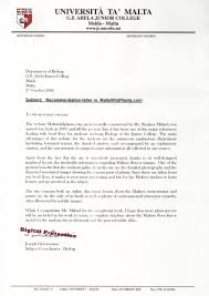 college recommendation letter recommendation letter  recommendation