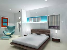 ideas bedroom interior design with calming colors for office