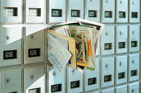 Image result for mailbox full of junk mail