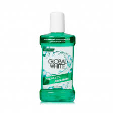 Ополаскиватель для полости рта <b>Global White</b> свежесть <b>дыхания</b> ...
