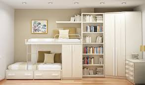 gallery of interesting bedroom space saving furniture interior home design with black bed frame and white bedding and pillows also black table lamp shades black bed with white furniture