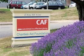 「「Charities Aid Foundation」(CAF)」の画像検索結果