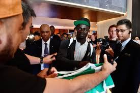 <b>Football</b>: Senegal star Sadio Mane gets red-<b>hot</b> welcome from ...