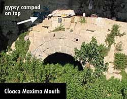 Risultati immagini per cloaca maxima roma