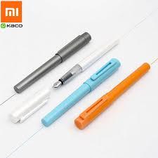 Оригинальная <b>ручка</b> Xiao <b>mi</b> KACO SKY, перьевая <b>ручка</b>, 0,3 мм 0 ...