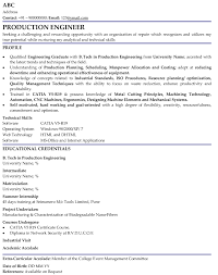 Resume Example For Freshers In It     BORH
