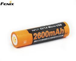 <b>Аккумулятор Fenix 18650</b> ARB-L18-<b>2600U 2600</b> mAh Купить ...
