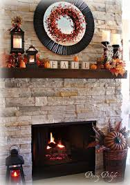 mantel decorating ideas fall modern fall mantel from dining delight middot fall decorations for mantledeco