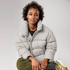 New Balance <b>Sport Style Select</b> Cropped Heat Down Jacket | Down ...