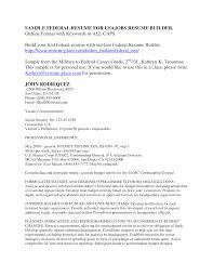 federal resume builder getessay biz federal jobs resume builder inside federal resume